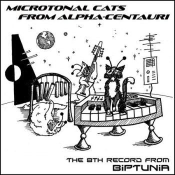 """Song player for BipTunia's 8th album """"Microtonal Cats from Alpha"""