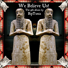 album cover and download link for We Believe Us! album