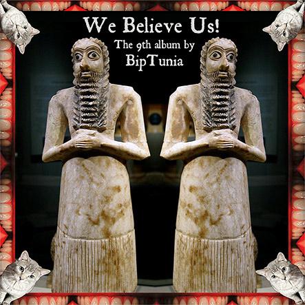 "FLAC 24-bit lossless of BipTunia's 9th album ""We Believe Us"