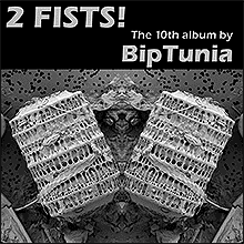 album cover and download link for 2 Fists! album