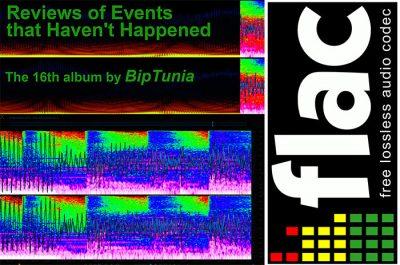 """FLAC 24-bit lossless legal torrent of BipTunia's 16th album """"REVIEWS"""