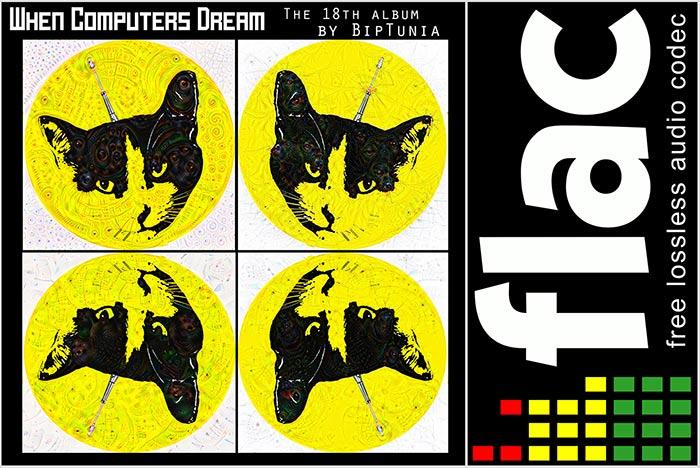 "FLAC 24-bit lossless of BipTunia's 18th album ""WHEN"