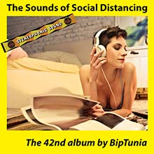 THE SOUNDS OF SOCIAL DISTANCING album cover and listen link